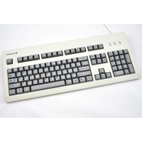 Thick Grey PBT Cherry profile blank 105 keyset