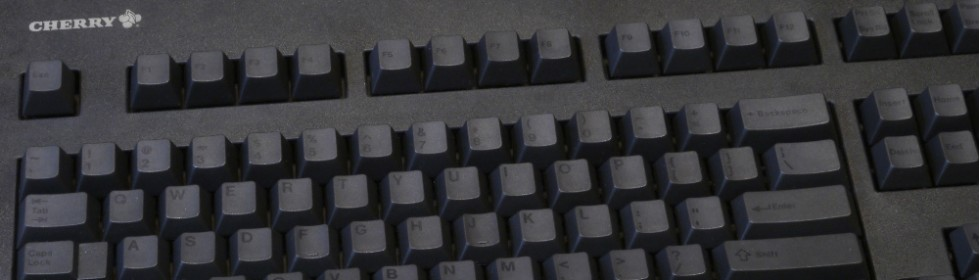 Black on Black Dyesub pinted keyset