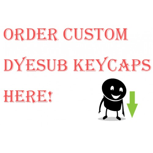 Custom dyesub ESC Keys