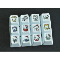 12 Constellation HelloKitty keys